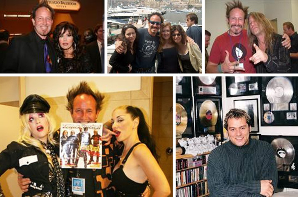 Steve Eggleston with Marie Osmond, Dana Strumm, Metal Sanaz and Sally Steele